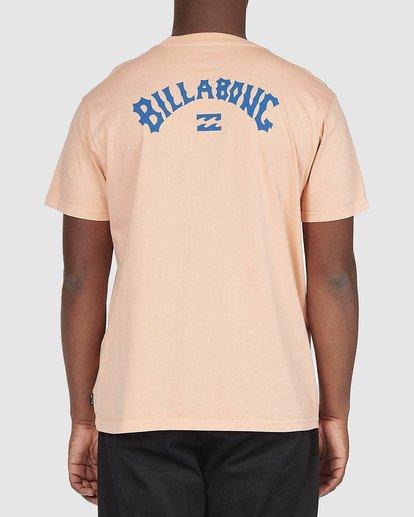 2 Arch Wave T-Shirt Orange 9518043 Billabong