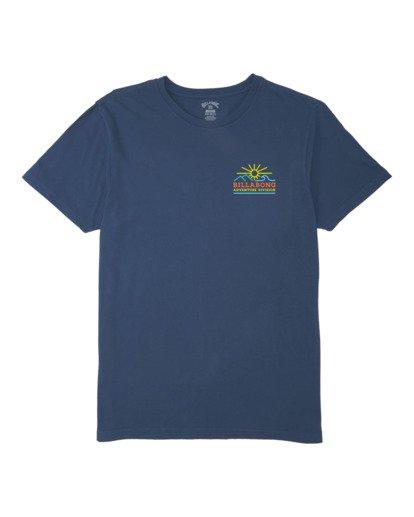 3 A/DIV Hills T-Shirt Blue 9518047 Billabong