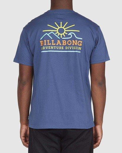 2 A/DIV Hills T-Shirt Blue 9518047 Billabong