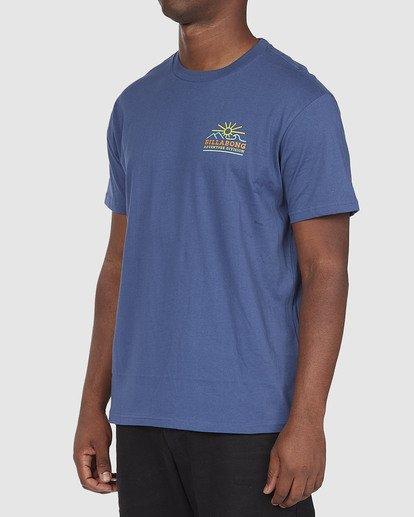 1 A/DIV Hills T-Shirt Blue 9518047 Billabong