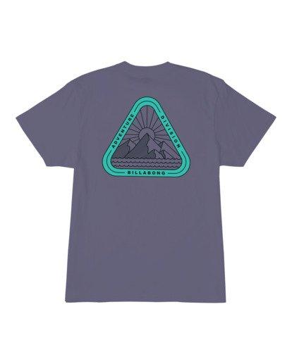 3 A/DIV Sawtooth T-Shirt Purple 9518048 Billabong