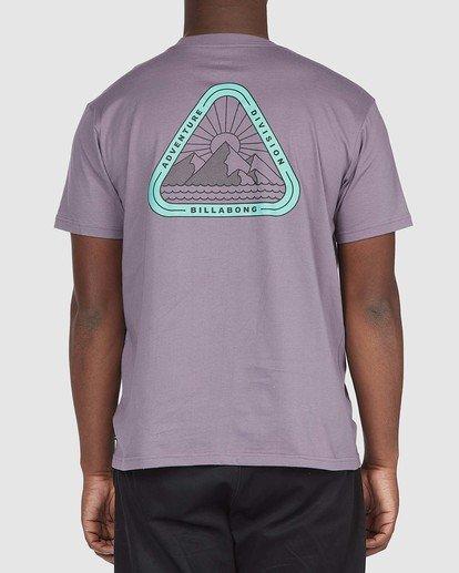 2 A/DIV Sawtooth T-Shirt Purple 9518048 Billabong