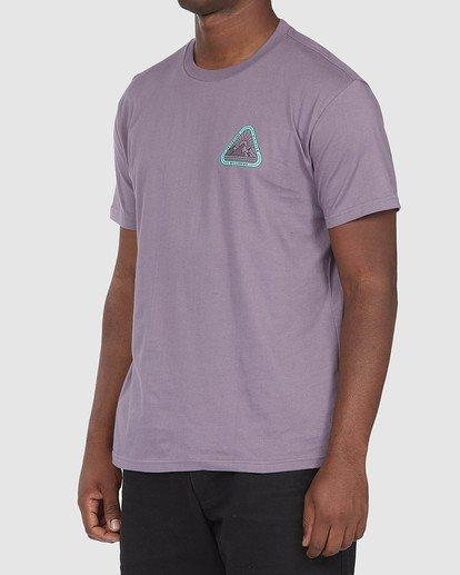 1 A/DIV Sawtooth T-Shirt Purple 9518048 Billabong