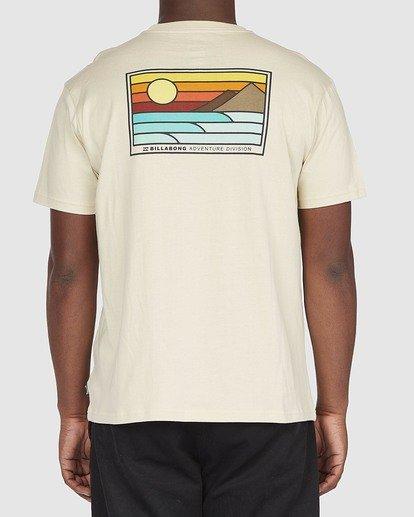 2 A/DIV Prospect T-Shirt Beige 9518049 Billabong