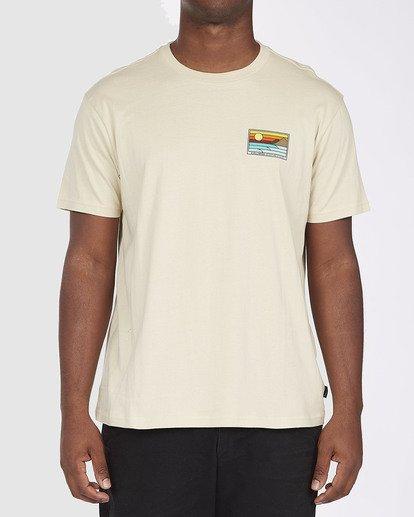 0 A/DIV Prospect T-Shirt Beige 9518049 Billabong