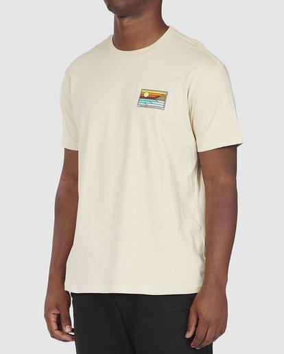 1 A/DIV Prospect T-Shirt Beige 9518049 Billabong
