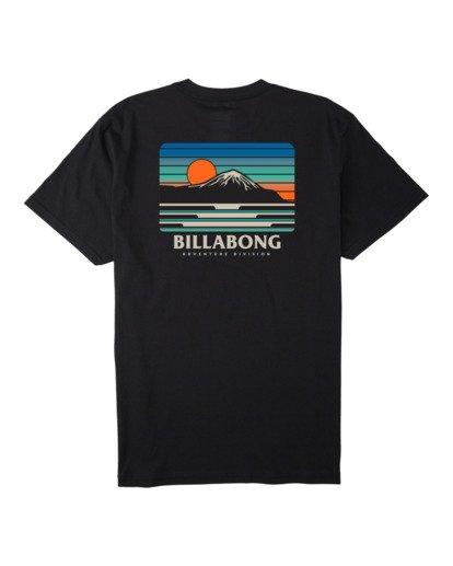 3 A/DIV Lines T-Shirt Black 9518050 Billabong