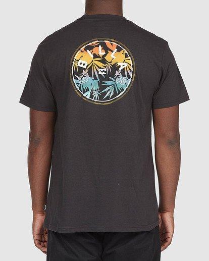 2 A/DIV Lines T-Shirt Black 9518050 Billabong