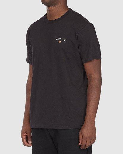 1 A/DIV Lines T-Shirt Black 9518050 Billabong