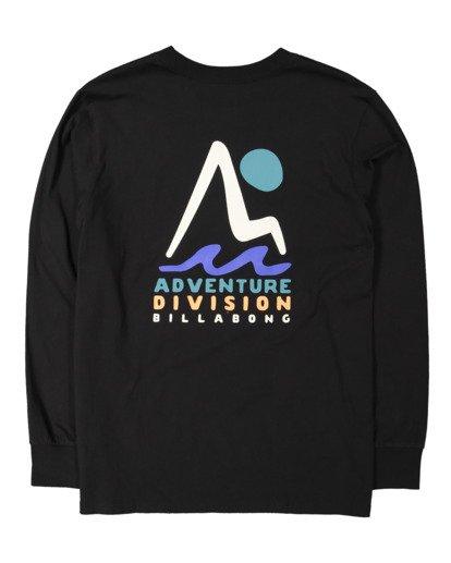 5 A/DIV Tour Division T-Shirt Black 9518148 Billabong