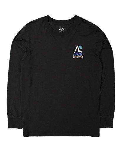 4 A/DIV Tour Division T-Shirt Black 9518148 Billabong