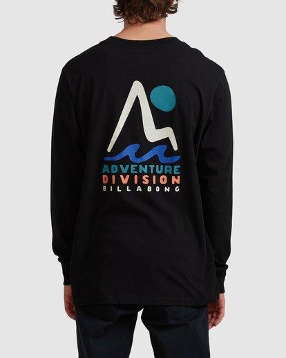2 A/DIV Tour Division T-Shirt Black 9518148 Billabong