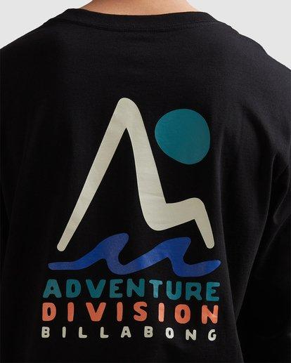 3 A/DIV Tour Division T-Shirt Black 9518148 Billabong