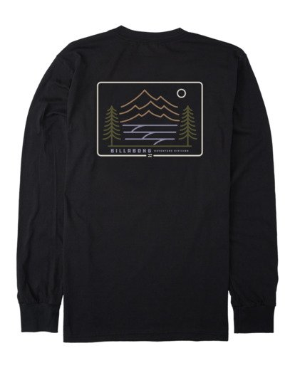 4 A/DIV Hwy 101 T-Shirt Black 9518152 Billabong