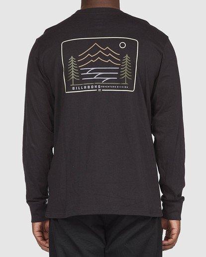 2 A/DIV Hwy 101 T-Shirt Black 9518152 Billabong