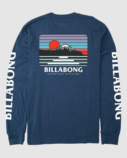 4 A/DIV T-Shirt Blue 9518153 Billabong