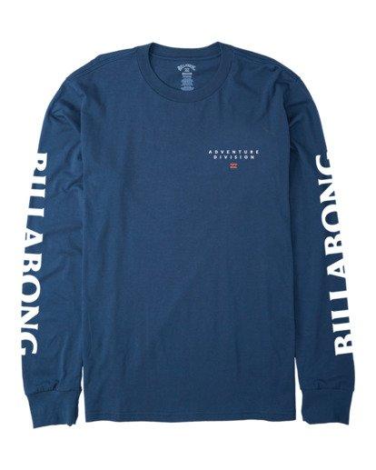 3 A/DIV T-Shirt Blue 9518153 Billabong