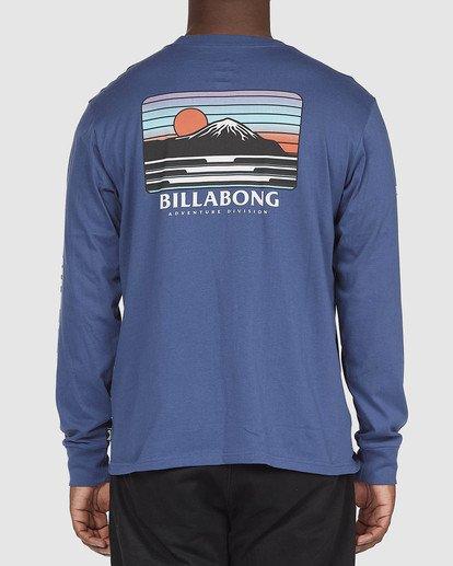 2 A/DIV T-Shirt Blue 9518153 Billabong
