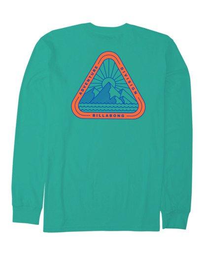 4 A/DIV Sawtooth T-Shirt Green 9518154 Billabong