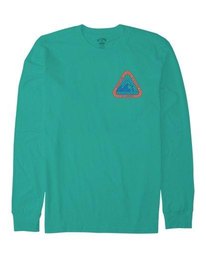 3 A/DIV Sawtooth T-Shirt Green 9518154 Billabong