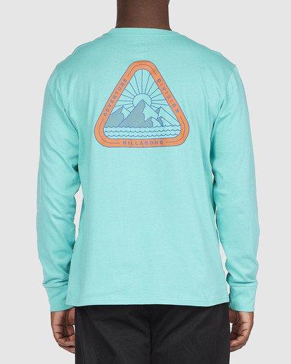 2 A/DIV Sawtooth T-Shirt Green 9518154 Billabong