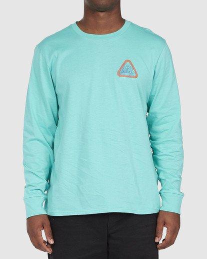 0 A/DIV Sawtooth T-Shirt Green 9518154 Billabong