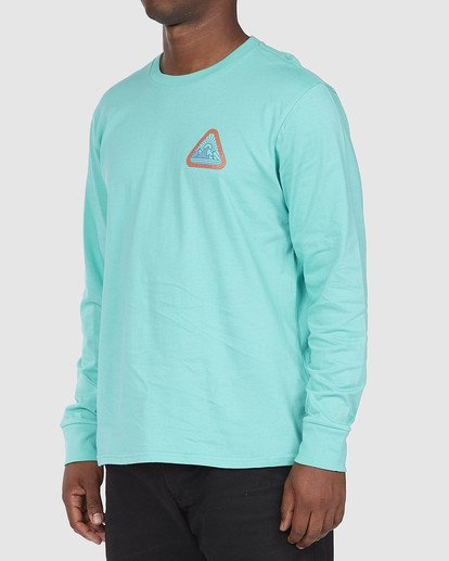 1 A/DIV Sawtooth T-Shirt Green 9518154 Billabong