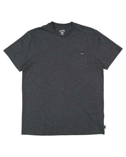 4 Premium Pocket Short Sleeve Tee Grey 9562046 Billabong