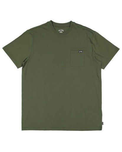 7 Premium Pocket Short Sleeve Tee Green 9562046 Billabong