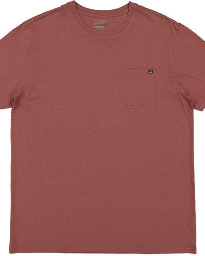 2 Premium Pocket Tee Red 9562046 Billabong
