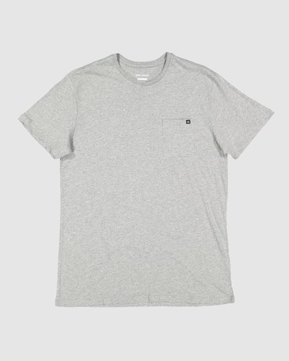 3 Premium Pocket Tee Grey 9562046 Billabong