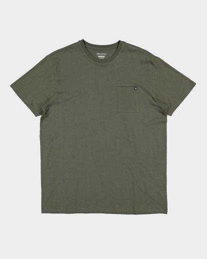 9 Premium Pocket Short Sleeve Tee Green 9562046 Billabong