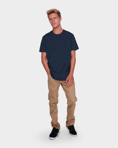 3 Premium Pocket T-Shirt Blue 9562046 Billabong