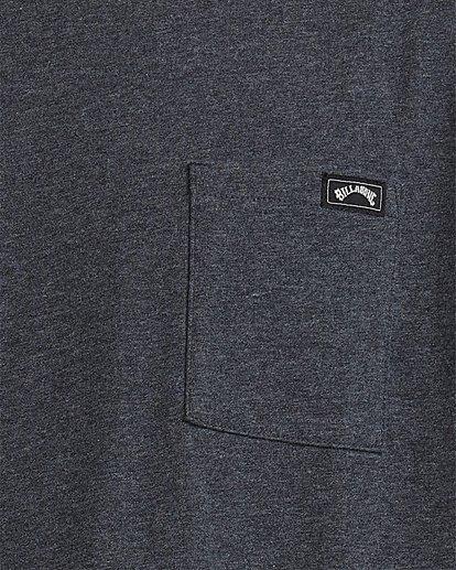 3 Premium Pocket Short Sleeve Tee Grey 9562046 Billabong