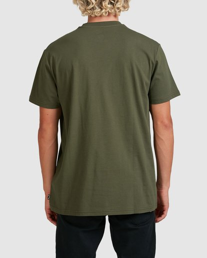 2 Premium Pocket Short Sleeve Tee Green 9562046 Billabong