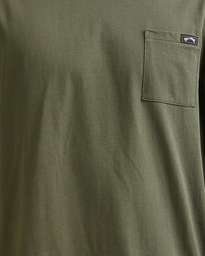 3 Premium Pocket Short Sleeve Tee Green 9562046 Billabong