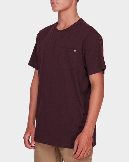1 PREMIUM POCKET TE Red 9562046 Billabong