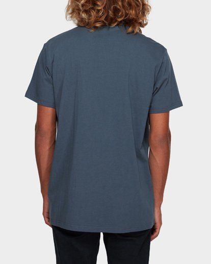 4 Premium Pocket Short Sleeve Tee Grey 9562046 Billabong