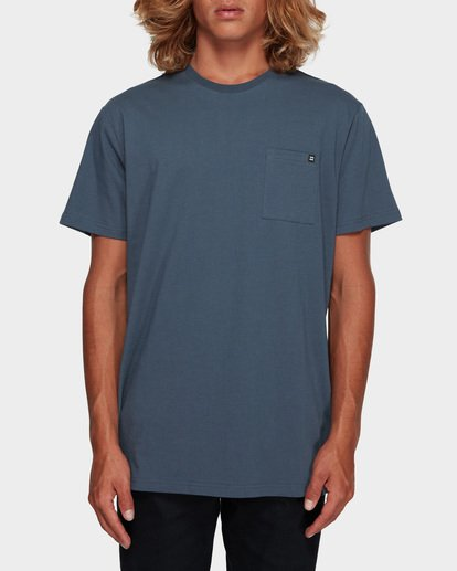 0 Premium Pocket Short Sleeve Tee Grey 9562046 Billabong