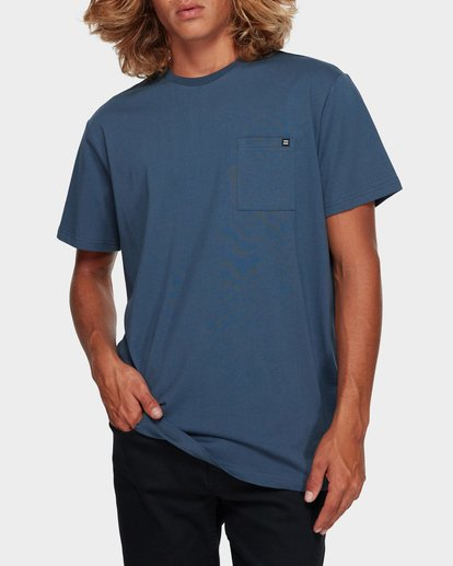 2 Premium Pocket Short Sleeve Tee Grey 9562046 Billabong