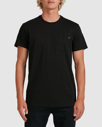 0 Premium Pocket Short Sleeve Tee Black 9562046 Billabong