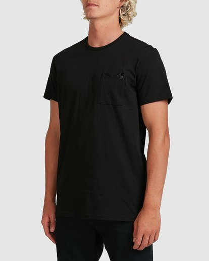 1 Premium Pocket Short Sleeve Tee Black 9562046 Billabong