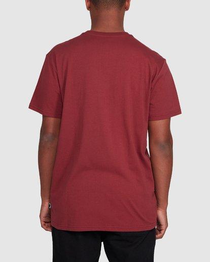 3 Premium Pocket Short Sleeve Tee Red 9562046 Billabong