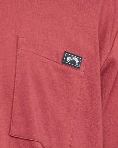 5 Premium Pocket Short Sleeve Tee Red 9562046 Billabong