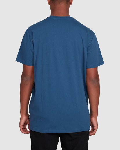 3 Premium Pocket Short Sleeve Tee Blue 9562046 Billabong
