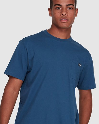 4 Premium Pocket Short Sleeve Tee Blue 9562046 Billabong