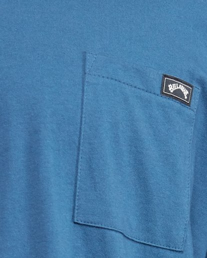 5 Premium Pocket Short Sleeve Tee Blue 9562046 Billabong