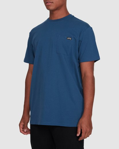2 Premium Pocket Short Sleeve Tee Blue 9562046 Billabong