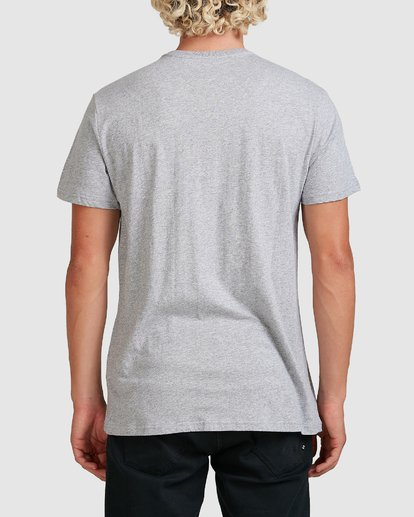 2 PREMIUM POCKET TEE Grey 9562046 Billabong