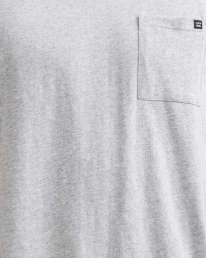 3 Premium Pocket Tee Grey 9562046 Billabong